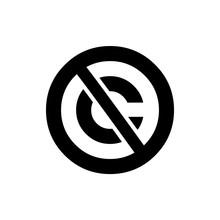 Public Domain Circular Icon. C...