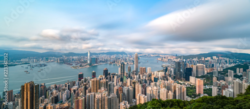 Cadres-photo bureau Pekin Hong Kong city scenery