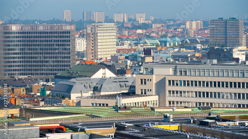 Foto op Canvas Brussel Brussels beautiful views of the city.