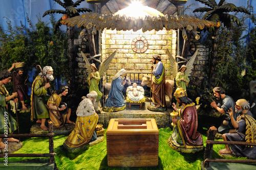 Fotografía  Christmas betlehem creche
