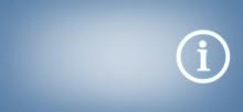 Information Symbol On Blue Bac...