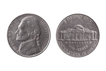 USA Half Dime Nickel Coin (25 ...