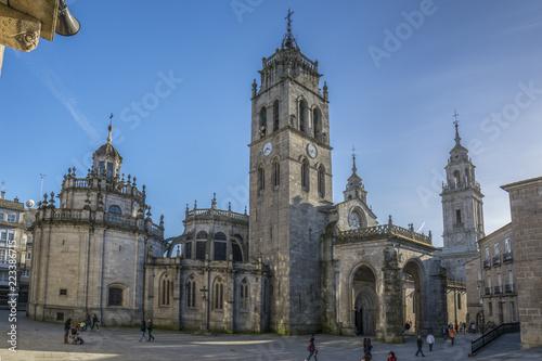 Catedral de Santa Maria de Lugo, Galicia, España