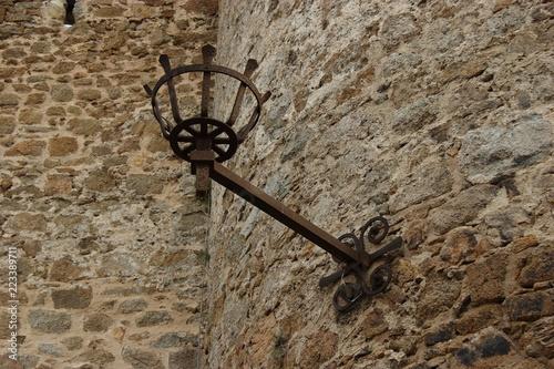 Fotografie, Obraz  Soporte de farola antigua