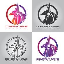 Colorful Anubis Company Logo D...