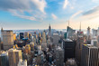 Manhattan - View from Top of the Rock - Rockefeller Center - New York