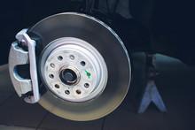 Brake Disk And Detail Of Wheel...
