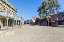Wild West Town Street