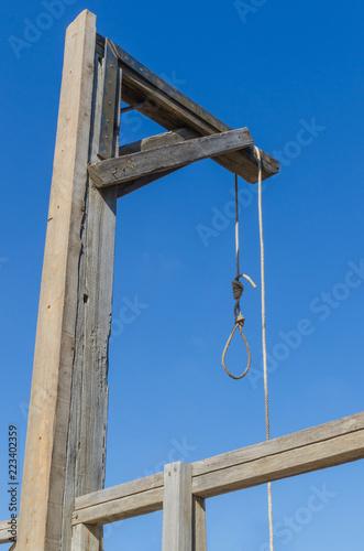 Photo gallow hang man