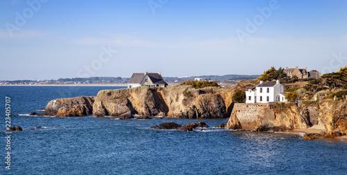 Tuinposter Kust bretonische Küste