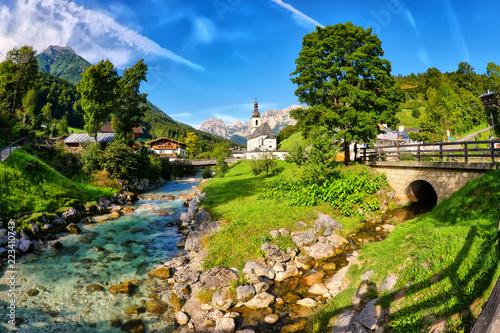 Ramsau bei Berchtesgaden Billede på lærred