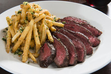 Hanger Steak With French Fries