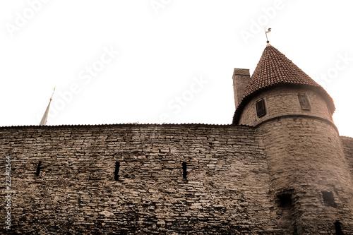 Foto  Walls of Tallinn fortress