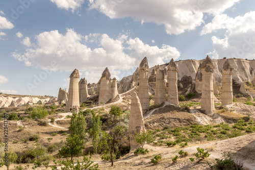 Valokuva  Traveling in Cappadocia, Love valley, Turkey