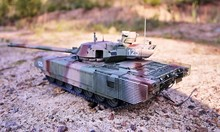 Hobby - Assembly Of Reduced Copies Of Real Battle Tanks. Such Models Are Very Popular And Many Fans Collect Dozens Of Models At Home.