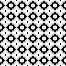 Seamless Pattern Geometric Flo...