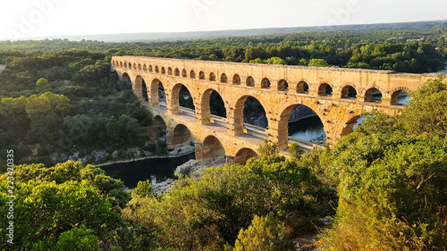 Fotografía Pont du Gard in the Gardon River, south of France
