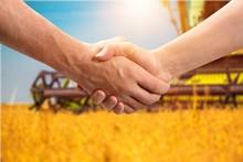 Farmer Handshake Agribusiness ...