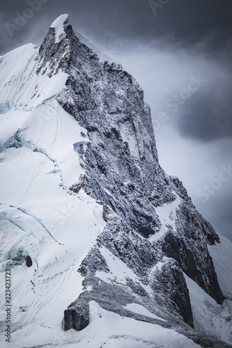 Foto op Plexiglas Antarctica Snow covered mountain, Paradise Harbor, Antarctica