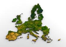 European Union (pre-Brexit) 3D...