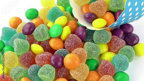 Foto op Aluminium Snoepjes Candy Sweet Jelly Lolly