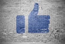 I Like Social Media Icon Graff...