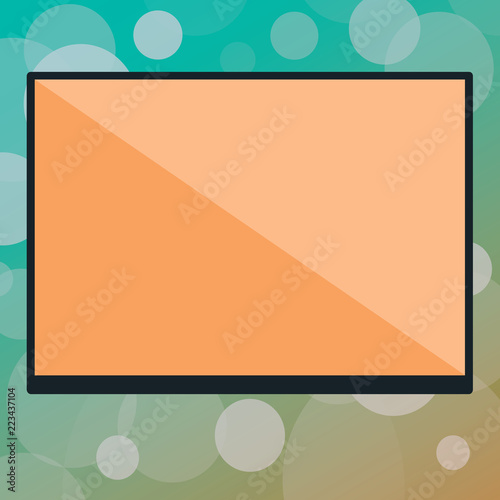 Fotografie, Obraz  Flat design Vector Illustration Empty esp template copy text for Ad, promotion, poster, flyer, web banner, article