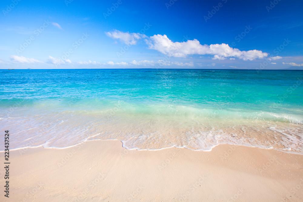 Fototapety, obrazy: beach and beautiful tropical sea