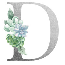 Watercolor Monogram Alphabet L...
