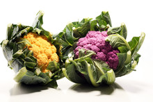 Colorful Cauliflower Cabbages ...