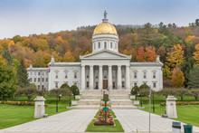 Vermont State House In Montpel...