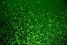 Green Spray Background