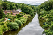 The River Severn in Ironbridge Gorge in Shropshire, England
