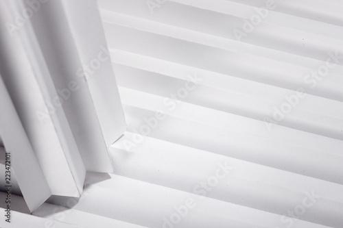 Fototapeta the background of a white stripe obraz na płótnie