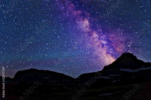Valokuva  Glacier Milky Way