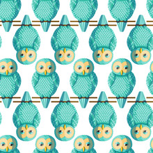 Seamless Vector Pattern With T...