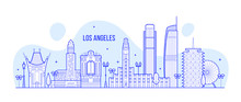 Los Angeles Skyline USA City B...