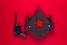 Military Soviet Cap For Cavalry