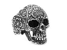 Jewelry Ring For Men. Skull Stainless Steel.