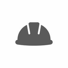 Hard Hat, Helmet Vector Icon