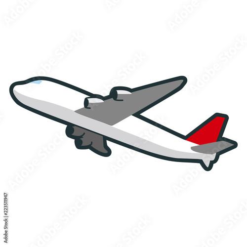 飛行機のイラストもっとも早い移動手段の一つでもある乗り物 Buy