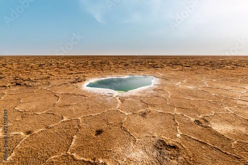 Staande foto Afrika Danakil Depression, Ethiopia