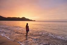 Sunset At Guanacaste Beach Cos...