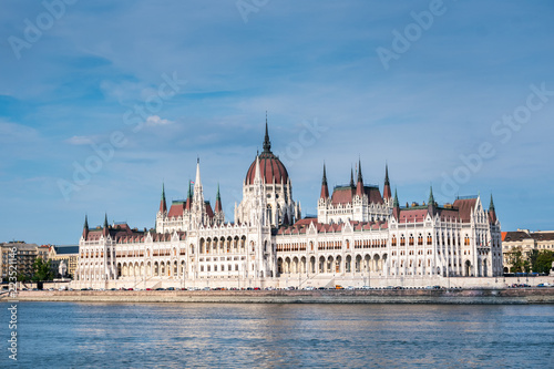 Captivating view of the Hungarian parliament, Budapest