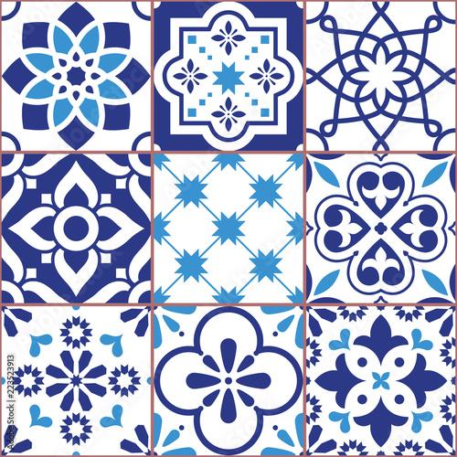 projekt-plytek-lizbony-azulejo-wektor-wzor-abstrakcyjne-i-kwiatowe-dekoracje-inspirowane-tranditional