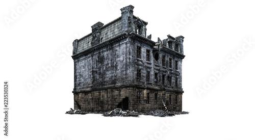 Foto op Aluminium Oude gebouw Building ruins