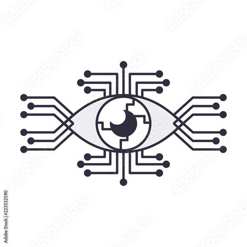 Fotografie, Obraz  Bionic eye technology