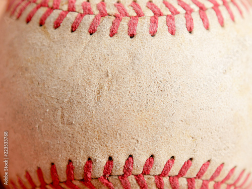 Sports Equipment old Baseball background texture Wallpaper Mural