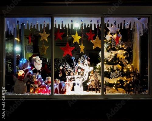 Christmas Shop Window Fototapeta