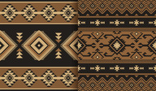 Tribal Ethnic Seamless Pattern...